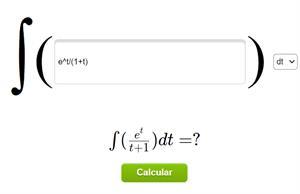 Calculadora de integrales online