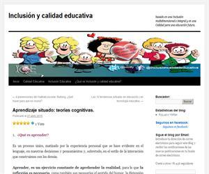 Aprendizaje situado: teorías cognitivas.