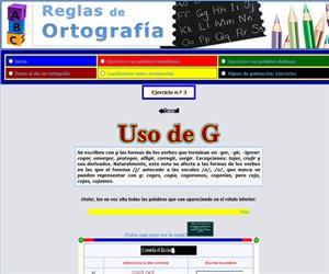 Uso de la G (Reglas de ortografía)