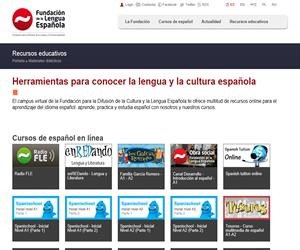 Fundación de la Lengua Española, recursos educativos de Lengua Castellana