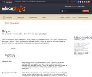 (sitio)Drogas (Educarchile)