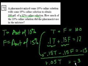 Ca 14 - problemas de álgebra (Khan Academy Español)
