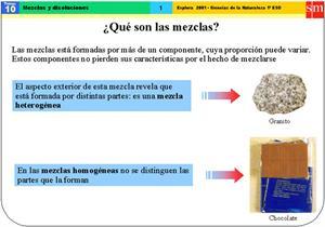 Mezclas y disoluciones (SM)