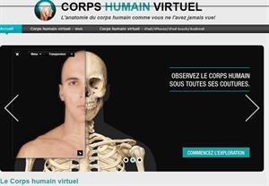 Corps humain virtuel (ikonet.com)