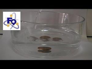 Experimentos caseros de física (refracción de la luz): Una moneda que desaparece