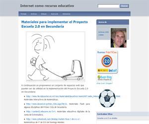 Materiales para implementar el Proyecto Escuela 2.0 en Secundaria. Internet como recurso educativo.