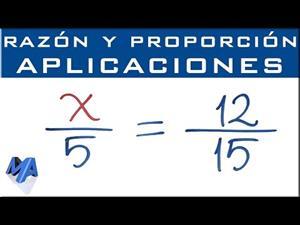 Proporciones directas | Comprobar una proporción y encontrar cuarto y medio proporcional