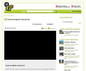 Pissarres digitals interactives (Edu3.cat)