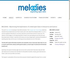 Melodies - Exploiting Open Data