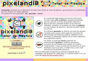Pixelandia. Taller de plástica (educastur.es)