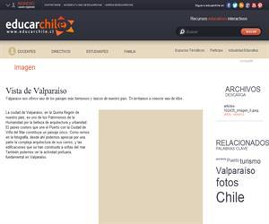 Vista de Valparaíso (Educarchile)