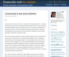 Construyendo la web social semántica » Blog de Israel Viana