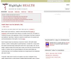 Health Search and the Semantic Web