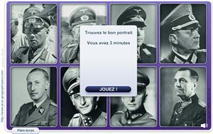 Portraits de la 2eme guerre mondiale. Niveau Expert  (Jeux historiques)