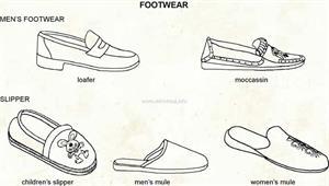 Footwear  (Visual Dictionary)