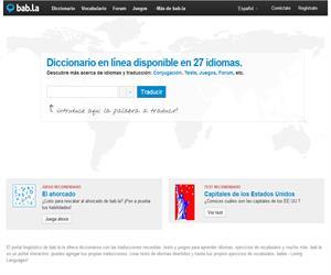 bab.la, un portal lingüístico multilingüe