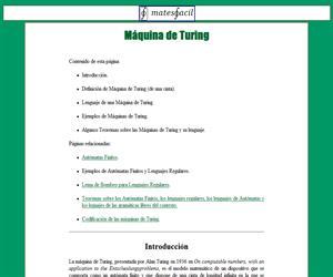 Máquina de Turing (definición y lenguaje)