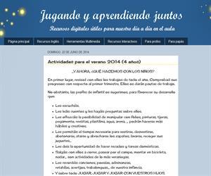 Actividades para el verano 2014 (4 años)