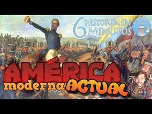 Historia de América de 1492 hasta hoy (Historia en 6 minutos)