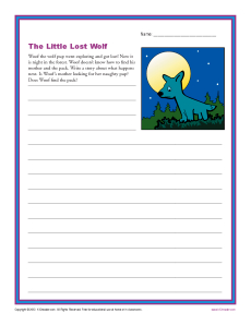The Little Lost Wolf