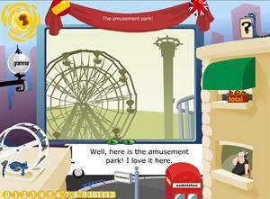 The amusement park. Inglés para 1º de Educación Secundaria