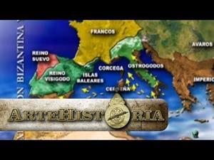 Expansión bizantina y musulmana (Artehistoria)