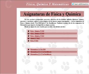 Materiales para física, química y matemáticas