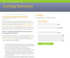 Two paradoxes at the heart of MOOCs (Learning Innovation)
