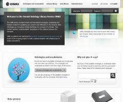 Finnish Ontology Library Service ONKI