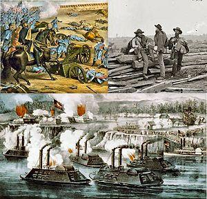 La Guerra de Secesión Americana