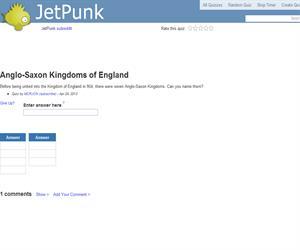 Anglo-Saxon Kingdoms of England