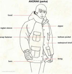 Anorak  (Visual Dictionary)