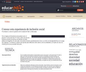 Argentina. Hace TV 6 (Educarchile)