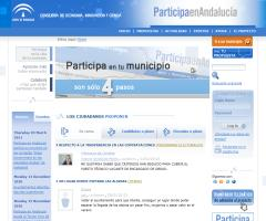 Participa en Andalucía: la plataforma de e-democracia andaluza