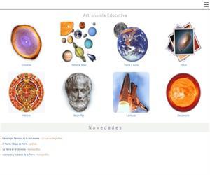 Astromía,  Astronomía educativa: Tierra, Sistema Solar y Universo