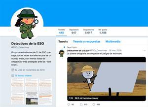 Detectives de la ESO vigilan las faltas de ortografía de los famosos en las redes sociales