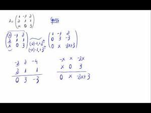Rango de una matriz - Método de Gauss