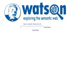 Watson: exploring the semantic Web