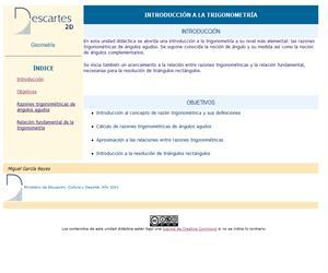 Introducción a la trigonometría (Descartes)