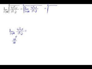 Límite de una sucesión (raíz de cociente polinomios)