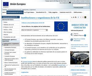 ¿Qué es Europa? organización de la Unión Europea