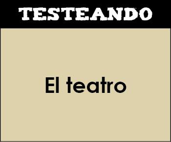 El teatro. 2º ESO - Lengua (Testeando)