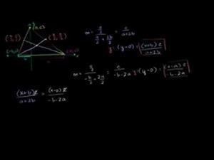 Mediana Y Baricentro Del Triángulo (Parte 2) (Khan Academy Español)