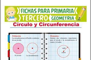 Objetos y formas geométricas. Circunferencia y círculo. Editorial Anaya
