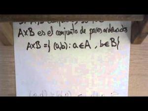 28 Teoria de Conjuntos || Producto Cartesiano