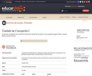 Traslado de Concepción I (Educarchile)