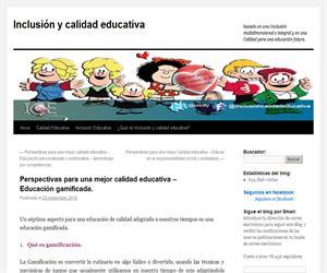 Perspectivas para una mejor calidad educativa – Educación gamificada.