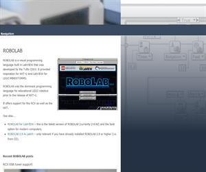 Robolab @ Ceeo, software especializado en robótica