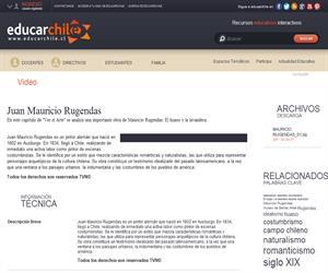 Mauricio Rugendas (Educarchile)