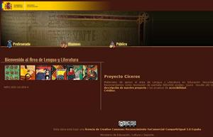 Proyecto Cíceros:  Lengua y Literatura en Educación Secundaria Obligatoria y Bachillerato